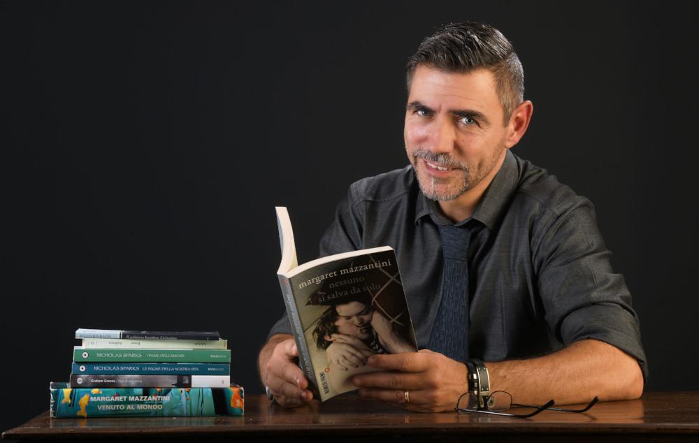Marzioli scrittore crede nell'amore e nella vita